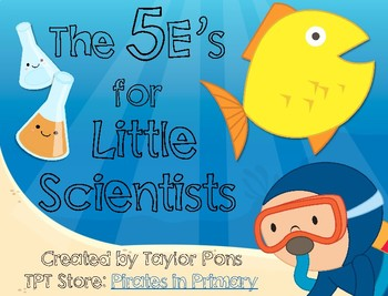 Ocean Themed- The 5e Model for Little Scientists