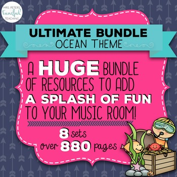 Ocean Themed ULTIMATE Classroom Bundle