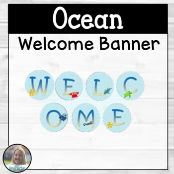Ocean-Themed Welcome Banner