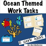 Ocean Themed Work Tasks