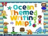 Ocean Themed Writing Maps