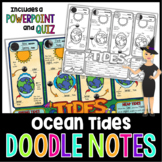 Ocean Tides Doodle Notes | Science Doodle Notes