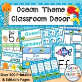 Ocean Under the Sea Theme Classroom Decor Bundle