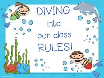 Ocean / Under the Sea Theme Classroom Rules