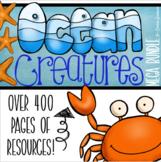Ocean Under the Sea Underwater Classroom Decorations and Management Mega Bundle