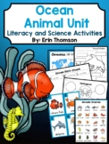 Ocean Animal Unit ~ Literacy and Science Activities