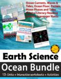 Ocean Unit Bundle: Units with Interactive Worksheets & Activities