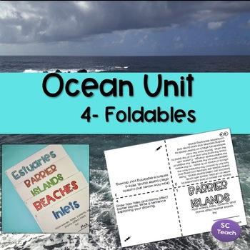 Ocean Unit Foldable (SC Science Standards-5th Grade)
