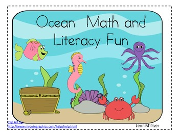 Ocean Unit Math and Language Arts CCSS