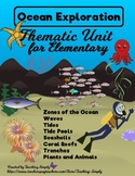 Ocean Unit - Thematic Unit, Reading, Science, Informationa
