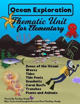 Ocean Unit - Reading, Science, Informational Text, Fun