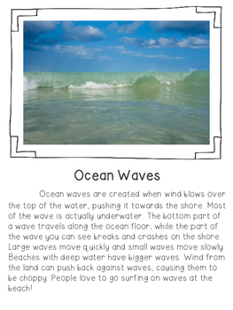 Ocean Unit (Science Lessons ONLY)