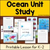 Ocean Unit Study : Oceans of the World, Ocean Zones for K-2