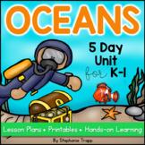 Ocean Unit for Kindergarten and First Grade