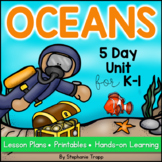 Ocean Unit for Kindergarten and First Grade