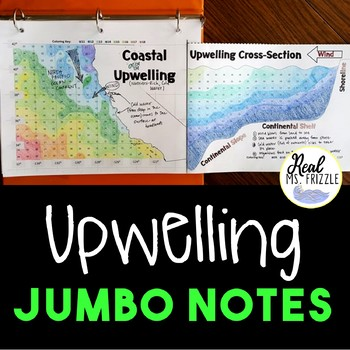 Ocean Upwelling JUMBO Notes and Color-by-Number