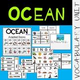 Ocean VOCABULARY UNIT (SPED/Autism/Elementary)