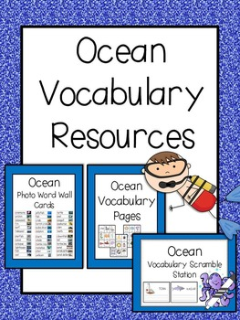 Ocean Vocabulary Bundle