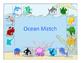 Ocean Vocabulary Matching Board