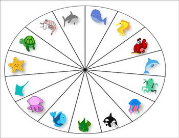Ocean Vocabulary Cariboo/Spinner