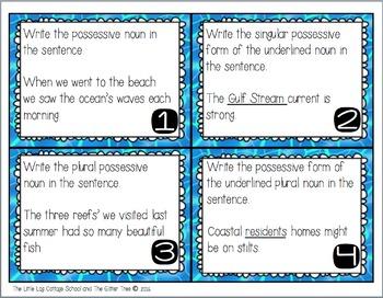 Ocean Vocabulary ELA Pack