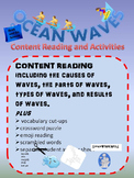 Ocean Waves Content Reading with Activities