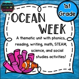 Ocean Week: A Thematic Unit for 1st Grade