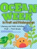 Ocean Week in PreK (and Kindergarten)!