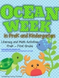 Ocean Week in PreK (and Kindergarten)!