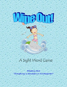 "Ocean ""Wipe Out"" Sight Word Game"