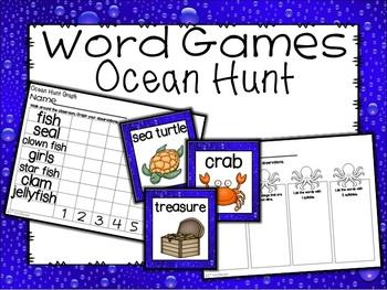 Ocean Word Hunt