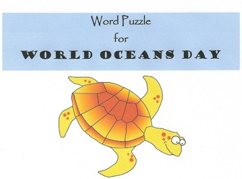 Ocean Word Puzzle