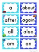 Ocean Word Wall Headers & 200 Words - Polka Dot