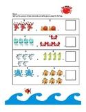 Ocean Counting Worksheet