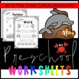 Preschool Ocean Worksheets