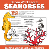 Ocean Worksheets: Seahorse Life Cycle & Habitat