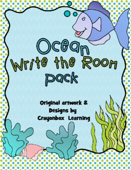 Ocean Write the Room - Writing Activities