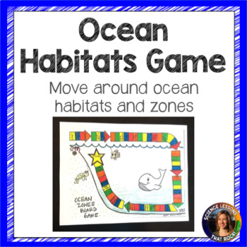 Ocean Zones Board Game