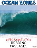 Ocean Zones Differentiated Nonfiction Reading Passages