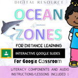 Ocean Zones Discovery UNIT for Distance Learning - PREP FREE