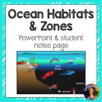 Ocean Zones SMART notebook presentation