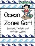 Ocean Zones Sort