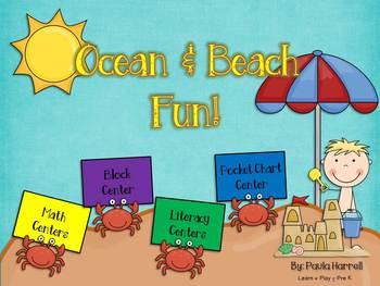 Ocean and Beach Fun (Common Core Aligned)