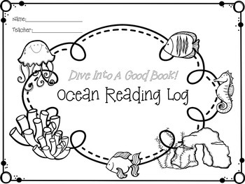 Ocean and Reading Themed Classroom Decorations
