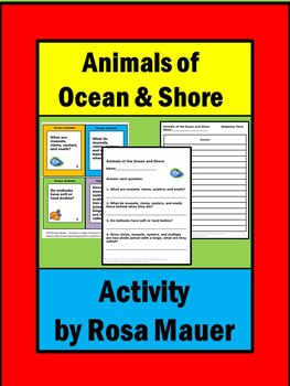 Animals of the Sea and Shore