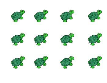 Ocean and Turtle Math Mat