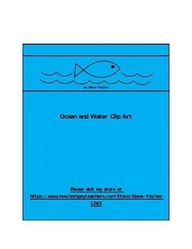 Ocean and Water Clip Art