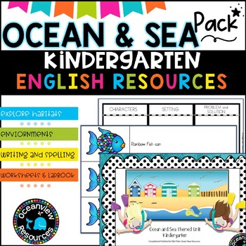 Ocean and sea a  complete unit of work for Kindergarten