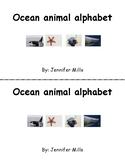 Ocean animal student alphabet books