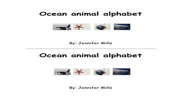 Ocean animal alphabet reading pack